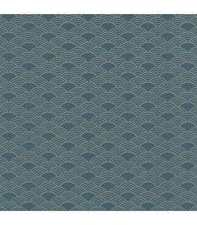 RH621020 - Rasch Wallpaper-Rapin Scalloped Wave