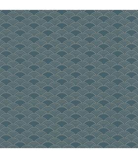 RH621020 - Rasch Wallpaper-Rapin Scalloped Wave