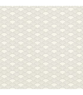 RH621037 - Rasch Wallpaper-Rapin Scalloped Wave