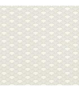 RH621037 - Rasch Wallpaper-Rapin Scalloped Wave