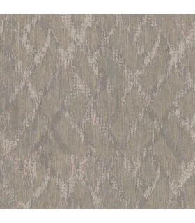 2909-DWP0074-07 - Riva Wallpaper by Brewster-Bunter Distressed Geometric