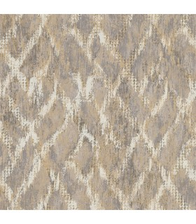 2909-SH-13043 - Riva Wallpaper by Brewster-Bunter Distressed Geometric