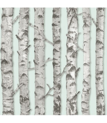 DD138890 -Origin Luxury Wallpaper by Estahome-Merman Birch Tree