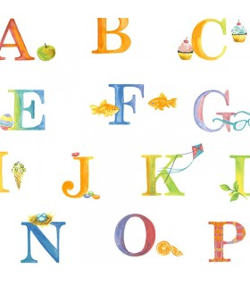 CM28600 - Alphabet wallpaper Norwall Special