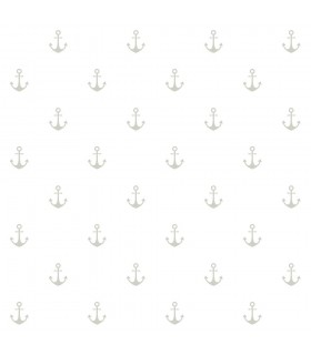 DD138964 -Origin Luxury Wallpaper by Estahome-Morton Grey Anchors