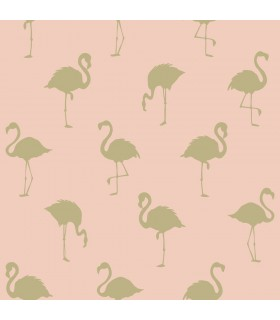 DD138994 -Origin Luxury Wallpaper by Estahome-Lovett Flamingo