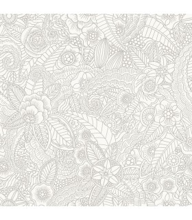 DD148613 -Origin Luxury Wallpaper by Estahome-Schunard Floral