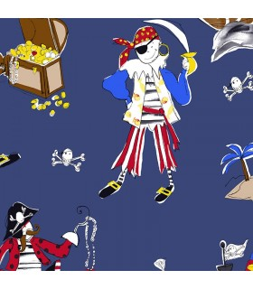 CM28612 -Pirate Wallpaper Norwall Special