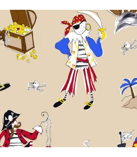 CM28613 -Pirate Wallpaper Norwall Special
