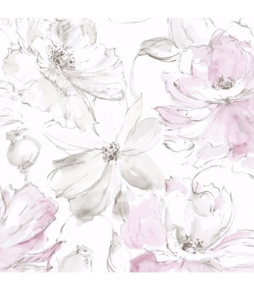 CL2516 - Impressionist Wallpaper by York-Floral Dreams