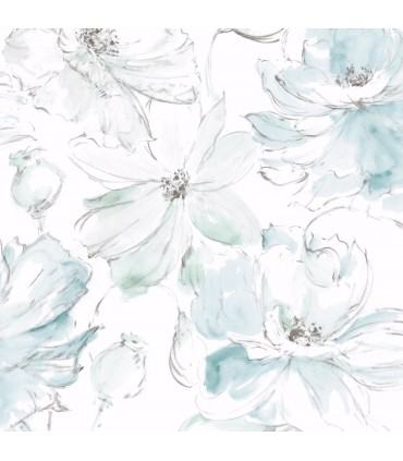 CL2517 - Impressionist Wallpaper by York-Floral Dreams
