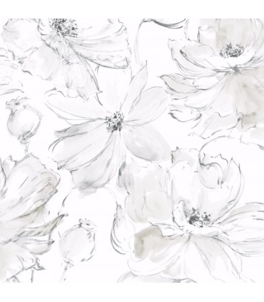 CL2520 - Impressionist Wallpaper by York-Floral Dreams