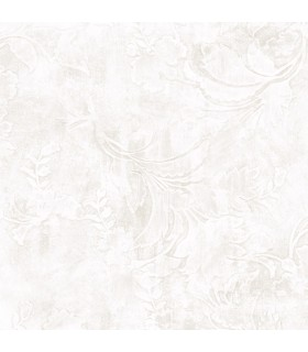 CL2588 - Impressionist Wallpaper by York-Entablature Scroll