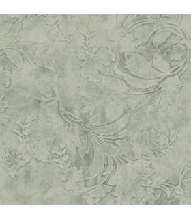 CL2590 - Impressionist Wallpaper by York-Entablature Scroll