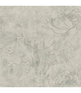 CL2591 - Impressionist Wallpaper by York-Entablature Scroll