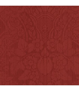 CS27314 - Red Damask Design Norwall Special