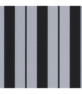CS27343 -Classic Silk Black & Silver Stripe Norwall Special
