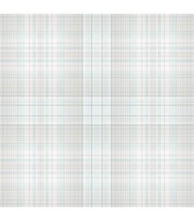 AF37720 - Flourish Wallpaper by Norwall-Plaid