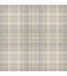 AF37721 - Flourish Wallpaper by Norwall-Plaid
