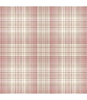 AF37722 - Flourish Wallpaper by Norwall-Plaid