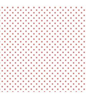KC28537 - Red Polka Dot Wallpaper Norwall Special