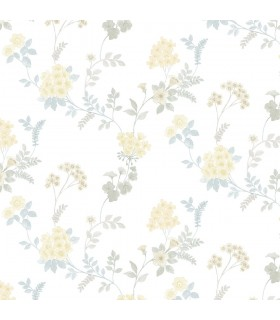 AF37733 - Flourish Wallpaper by Norwall-Floral