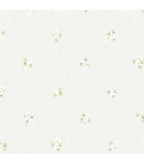 AF37749 - Flourish Wallpaper by Norwall-Floral Spot