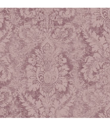AF37712 - Flourish Wallpaper by Norwall-Valentine Damask