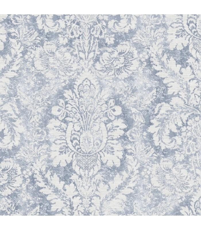 AF37714 - Flourish Wallpaper by Norwall-Valentine Damask