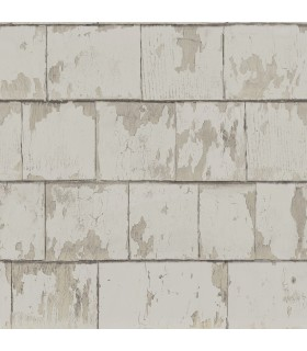 3119-13041 - Kindred Wallpaper by Chesapeake-Clint Weathered Wood