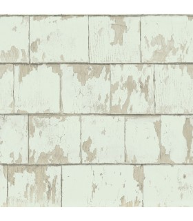 3119-13042 - Kindred Wallpaper by Chesapeake-Clint Weathered Wood