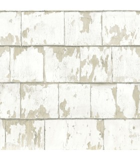 3119-13043 - Kindred Wallpaper by Chesapeake-Clint Weathered Wood