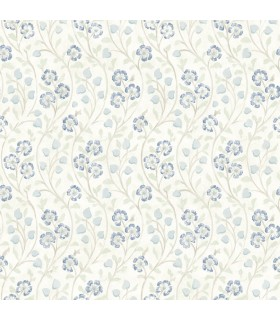 3119-13052 - Kindred Wallpaper by Chesapeake-Patsy Floral