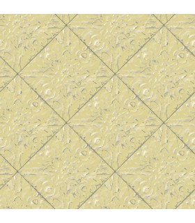 3119-13093 - Kindred Wallpaper by Chesapeake-Brandi Metallic Faux Tile