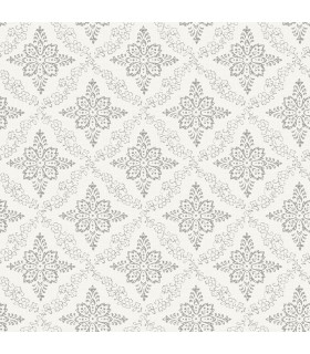 3119-13531 - Kindred Wallpaper by Chesapeake-Wynonna Geometric Floral