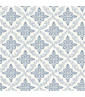 3119-13532 - Kindred Wallpaper by Chesapeake-Wynonna Geometric Floral