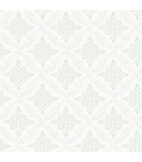 3119-13533 - Kindred Wallpaper by Chesapeake-Wynonna Geometric Floral