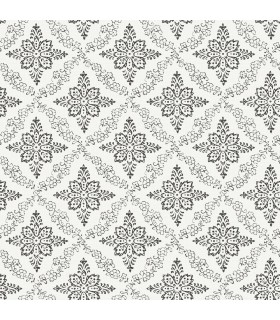 3119-13534 - Kindred Wallpaper by Chesapeake-Wynonna Geometric Floral
