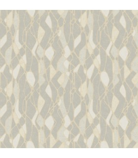 NA0510 - Botanical Dreams Wallpaper by Candice Olson-Stained Glass