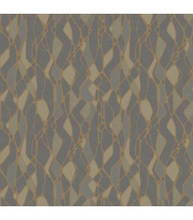 NA0511 - Botanical Dreams Wallpaper by Candice Olson-Stained Glass