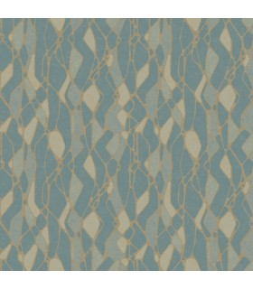 NA0512 - Botanical Dreams Wallpaper by Candice Olson-Stained Glass