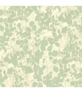 NA0517 - Botanical Dreams Wallpaper by Candice Olson-Pressed Leaves