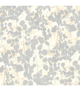 NA0520 - Botanical Dreams Wallpaper by Candice Olson-Pressed Leaves