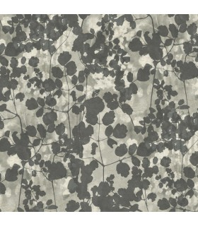 NA0521 - Botanical Dreams Wallpaper by Candice Olson-Pressed Leaves