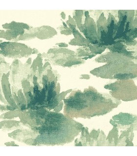 NA0526 - Botanical Dreams Wallpaper by Candice Olson-Water Lily