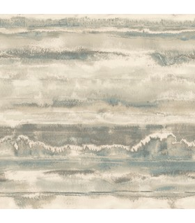 NA0534 - Botanical Dreams Wallpaper by Candice Olson-High Tide