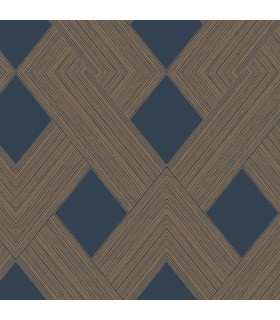 GM7540 - Geometric Resource Library Wallpaper by York-Beveled Edge
