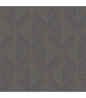GM7554 - Geometric Resource Library Wallpaper by York-Diamond Shadow