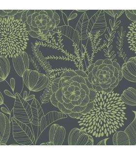 2903-25855 - Bluebell Wallpaper by A-Street-Alannah Botanical