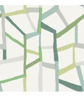 2903-25847 - Bluebell Wallpaper by A-Street-Tate Geometric Linen